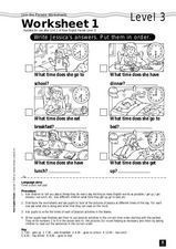 Join the Parade Worksheet 1 - Level 3 Worksheet