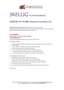Skellig Lesson Plan