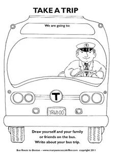 Take A Bus Ride! Worksheet