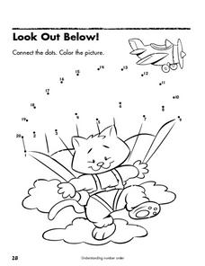 Look Out Below! Lesson Plan
