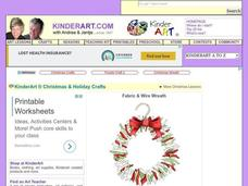 Christmas Wreath Lesson Plan