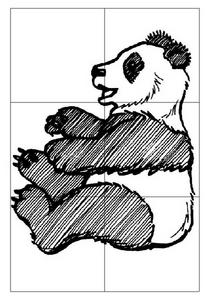Panda Jigsaw Worksheet