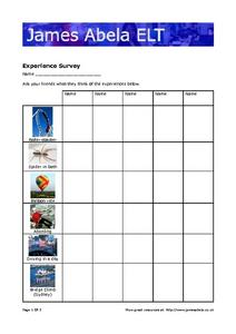 Describing Feelings Worksheet