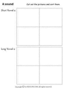 """A"" Sound Worksheet"