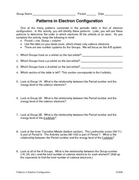 all worksheets electron configuration worksheets printable worksheets guide for children and. Black Bedroom Furniture Sets. Home Design Ideas