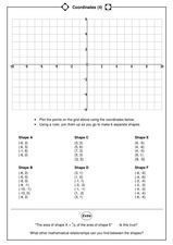 Coordinates (4) Worksheet
