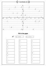 Coordinates (3) Worksheet