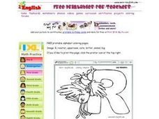 Rooster And the Letter R Worksheet
