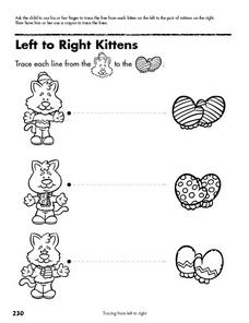 Left to Right Kittens Lesson Plan