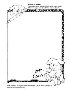 Coco Wants To Go Home With You Worksheet