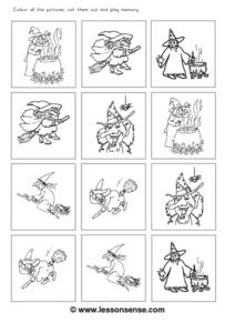 Witches Galore Worksheet