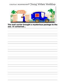 Writers Tablet Worksheet