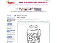 Jelly Beans in a Jar Worksheet