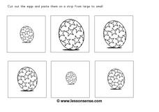 Different Sized Eggs Worksheet