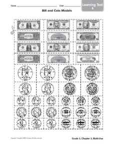 Bill And Coin Models Worksheet