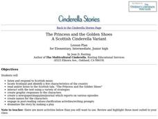 Cinderella Stories Lesson Plan