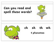 Read and Spell Worksheet