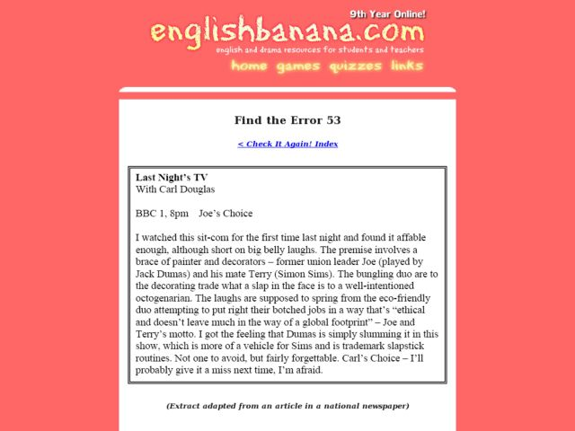 Comedy Of Errors Worksheet : Find the error lesson plans worksheets reviewed by teachers