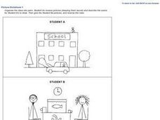 Picture Dictations 1 Worksheet