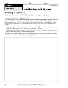 Planning a Funhouse Worksheet