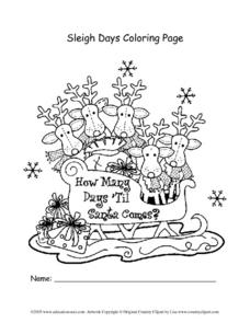 Sleigh Days Lesson Plan