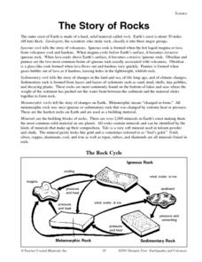 The Story of Rocks Lesson Plan