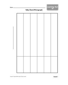 Tally Chart/ Pictograph Graphic Organizer