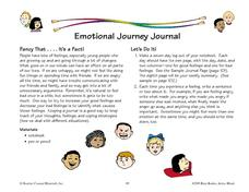 Emotional Journey Journal Worksheet