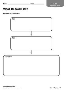 What Do Cells Do? Graphic Organizer