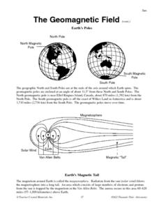 Earth's Poles Worksheet