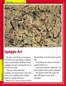 Squiggle art Worksheet