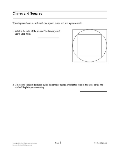 Circles and Squares Assessment