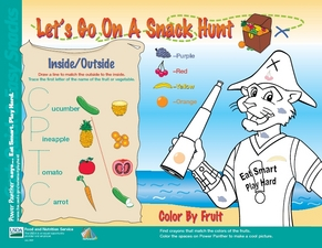 Let's Go on a Snack Hunt Lesson Plan