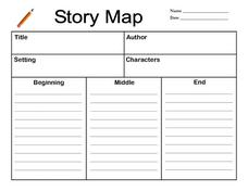 story map lesson plan for 2nd 3rd grade lesson planet. Black Bedroom Furniture Sets. Home Design Ideas