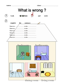 What Is Wrong? Worksheet