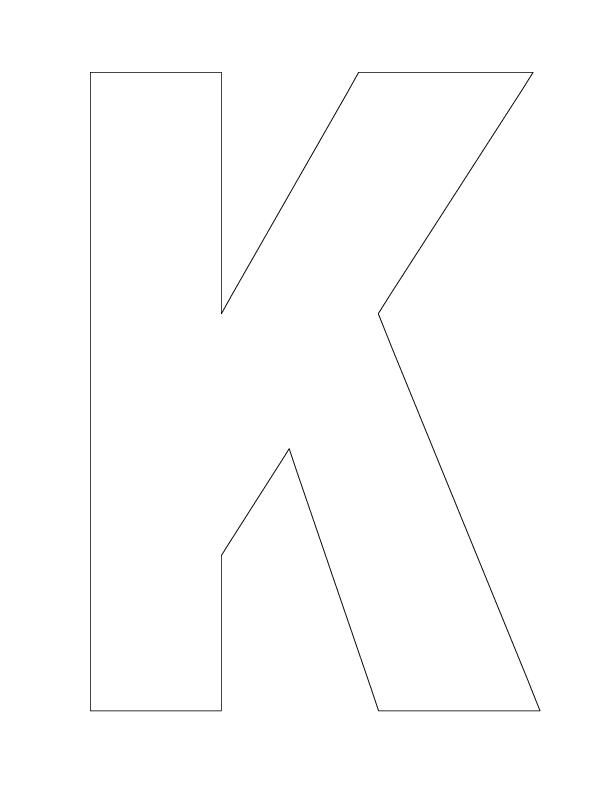 Letter K Worksheets For Kindergarten