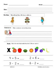 Education Creations Worksheet