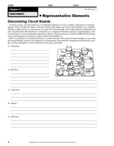 Discovering Circuit Boards Worksheet