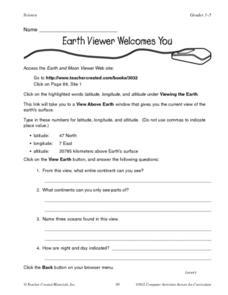 earth 39 s surface lesson plans worksheets lesson planet. Black Bedroom Furniture Sets. Home Design Ideas