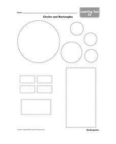 Circles and Rectangles Worksheet