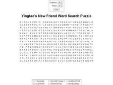 Yingtao's New Friend Worksheet