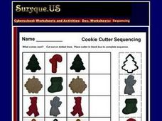 December Sequencing Worksheet