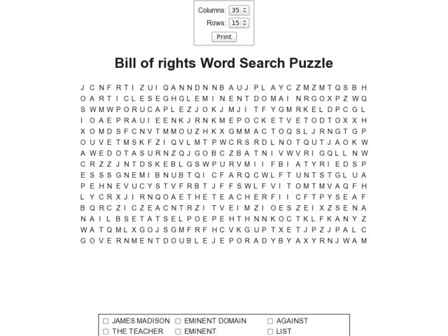 All Worksheets Bill Of Rights Worksheet Free Printable – The Bill of Rights Worksheet