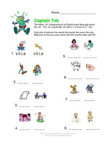 Captain Tsh Worksheet