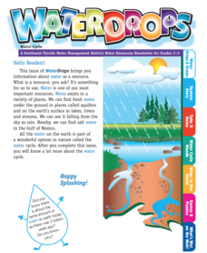 Waterdrops Water Cycle Worksheet