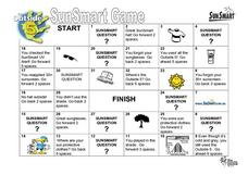 SunSmart Game Lesson Plan