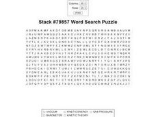 Stack #79857 Word Search Puzzle Worksheet