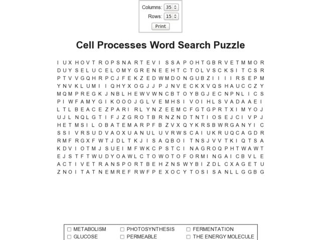 Cell Processes Worksheet Delibertad – Cell Processes Worksheet