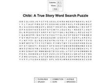 Chibi: A True Story Worksheet