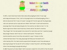 Robert Bowyer Smith and the Stump Jump Plough Worksheet